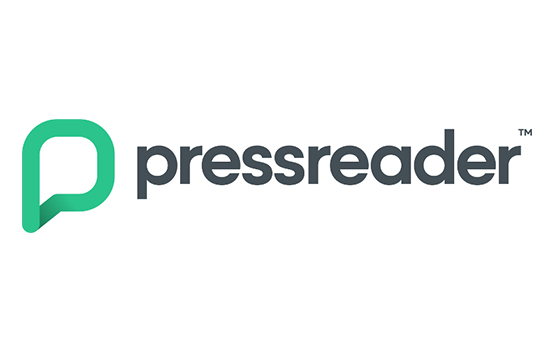 Pressreaders logotyp.